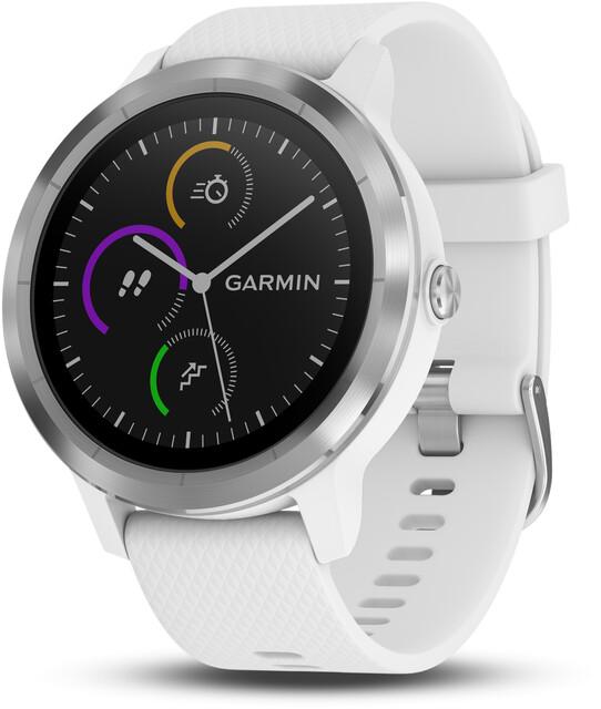 Sportuhren Garmin : Garmin vívoactive gps sportuhr mit weißem silikonarmband